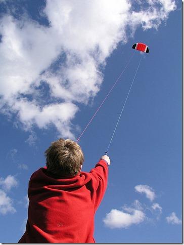 flying a kite by sageofnewborough via flickr