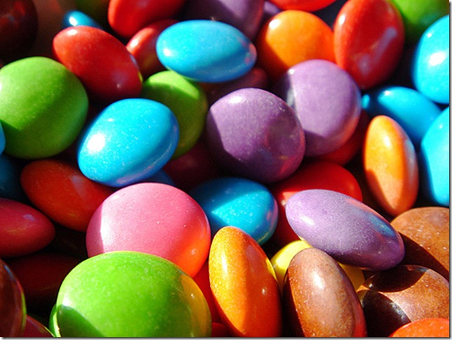 smarties by gadl via flickr