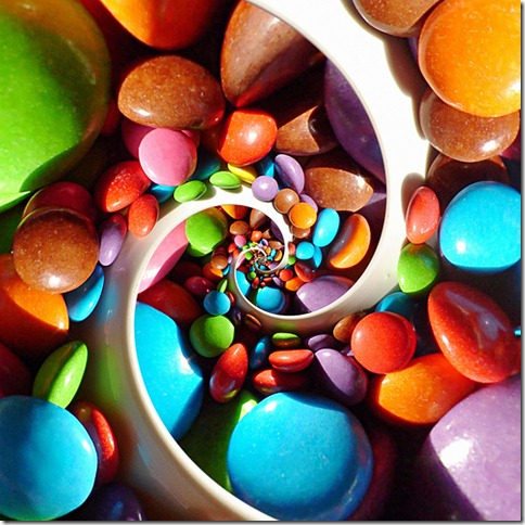 smarties spiral by gadl via flickr