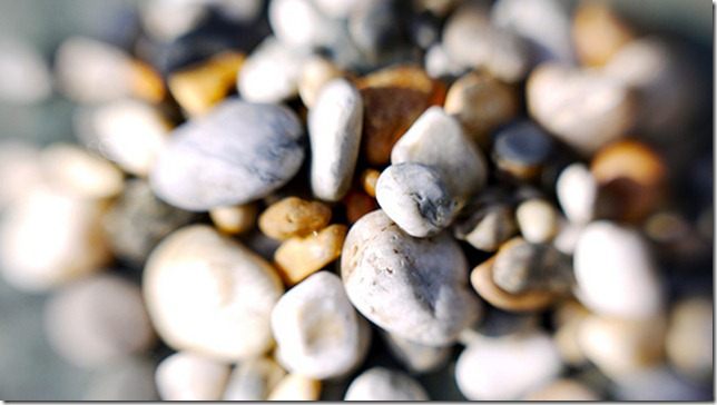 pebbles up close by Ivan Lian via flickr