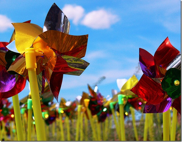 Pinwheels for Prevention by Wade from Oklahoma via flickr