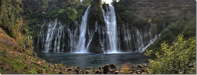 Burney Falls by cbruno via Flickr